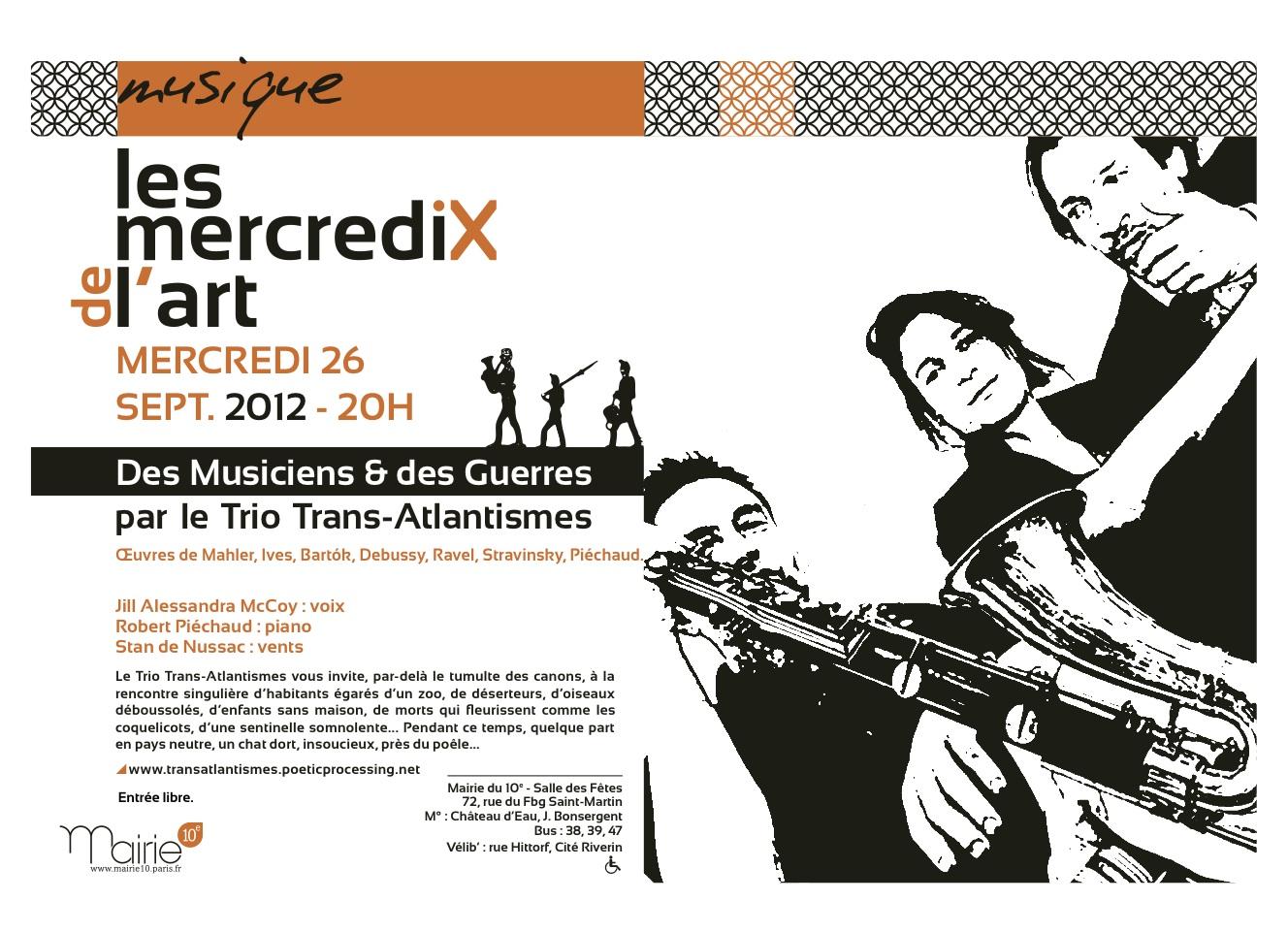 rencontres parisiennes eau et cinéma 2012